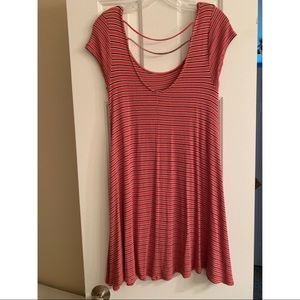 American Eagle Outfitters Dresses - American Eagle striped dress with nice back detail